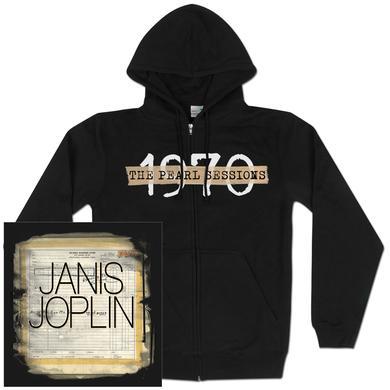 Janis Joplin 1970 Zip Hoodie