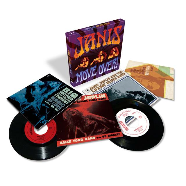 "Janis Joplin - Move Over! 7"" Vinyl Box Set"