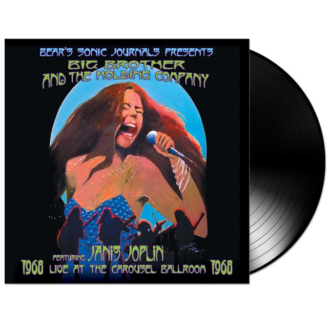 Janis Joplin Live at the Carousel Ballroom 1968 Vinyl (2 LP)