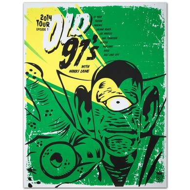 Old 97's 2014 Tour Poster