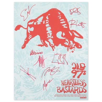 Old 97s + Heartless Bastards Poster – SIGNED