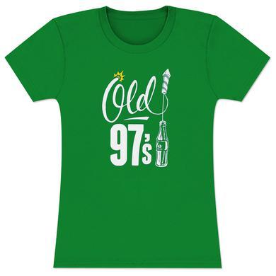 Old 97's Bottle Rocket Women's T-Shirt - Green