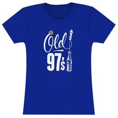 Old 97's Bottle Rocket Women's T-Shirt - Blue