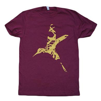 10 Years Maroon Bird Tee