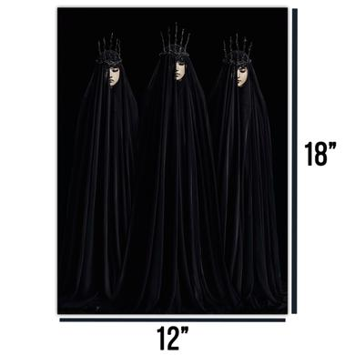 BABYMETAL 12x18 Three Crowns Poster