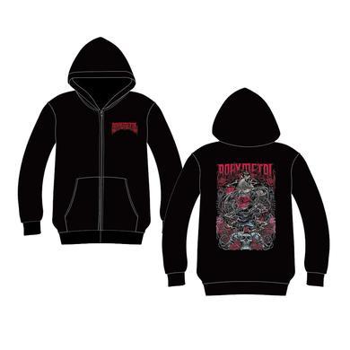 BABYMETAL California Metal Fox Turn Back Zip Hoodie