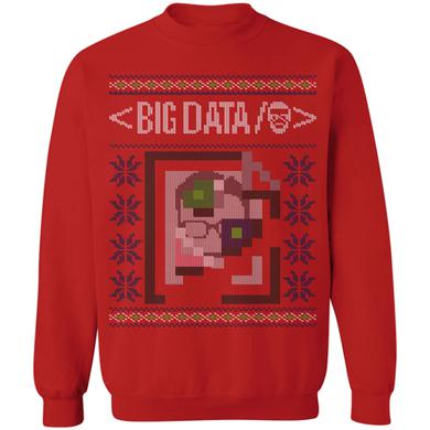 Big Data Pixel Holiday Crew Neck