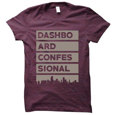 Dashboard Confessional Bars Tee