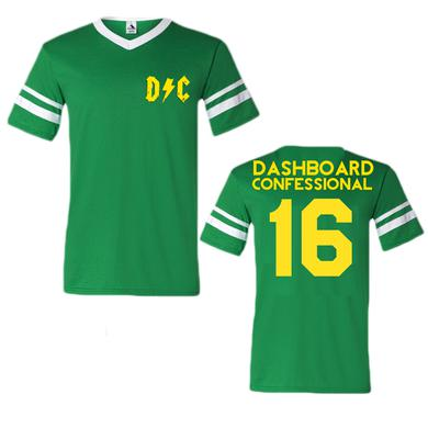 Dashboard Confessional Green Logo Jersey