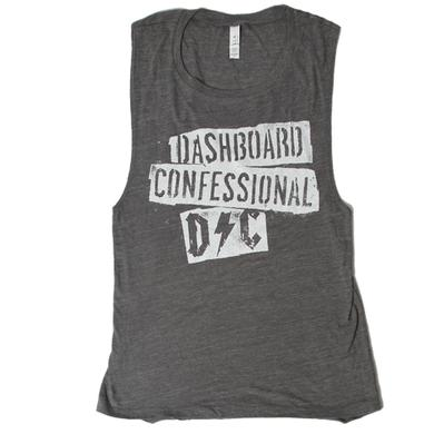 Dashboard Confessional Ladies Scraps Tank Top