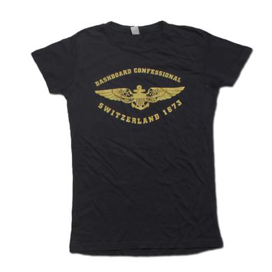 Dashboard Confessional Ladies Swiss Army 2011 Tour Tee
