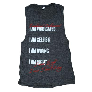 Dashboard Confessional Vindicated Ladies Tank