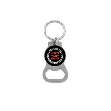 Dashboard Confessional Always and Forever Bottle Opener Keychain