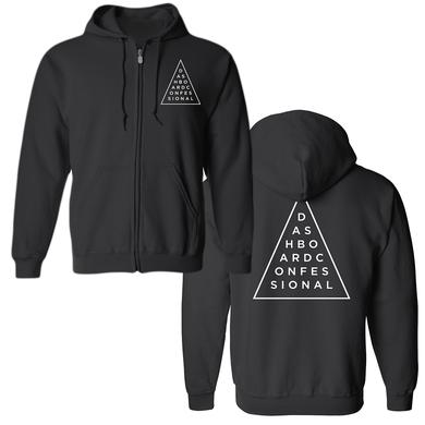 Dashboard Confessional Triangle Hoodie