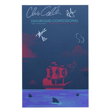 Dashboard Confessional Signed Poster