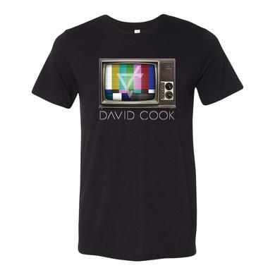 David Cook Black TV Tee