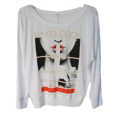 David Cook Kiss & Tell Sweater