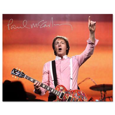 Paul McCartney On Point 8 X 10 Photo