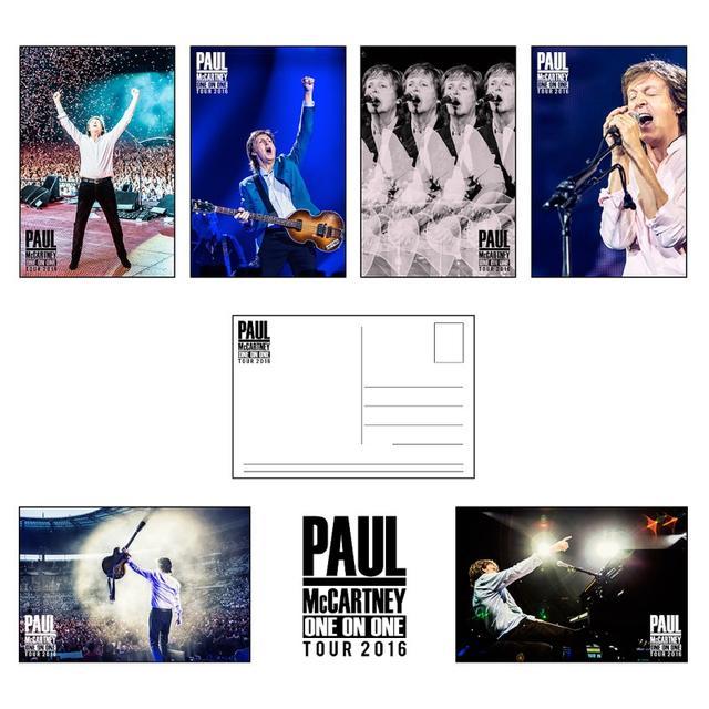 Paul Mccartney One On One Postcard Set