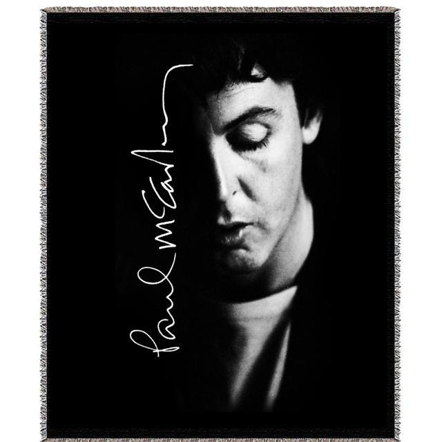 Paul Mccartney Shadows Woven Blanket