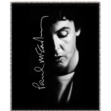 Paul McCartney Shadows Woven Blanket
