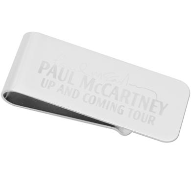 Paul McCartney Up and Coming Money Clip