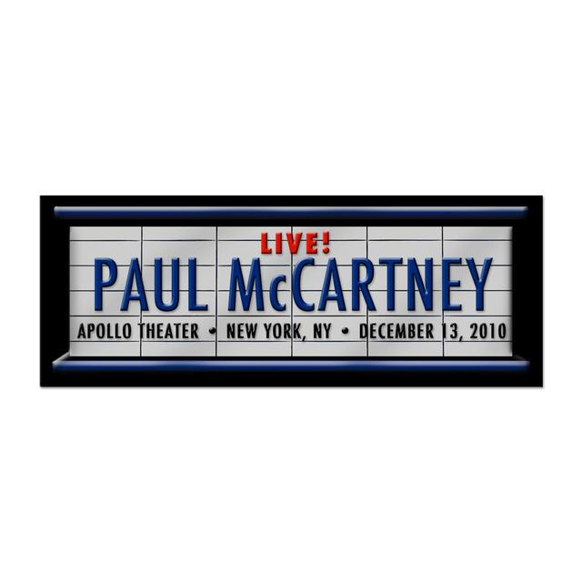 Paul McCartney Marquee Pin