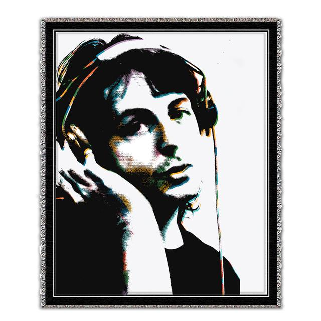 Paul McCartney Headphones Blanket