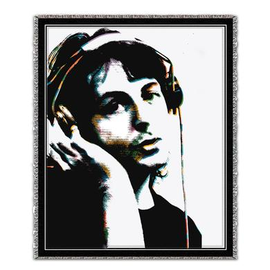 Paul McCartney Headphones Blanket