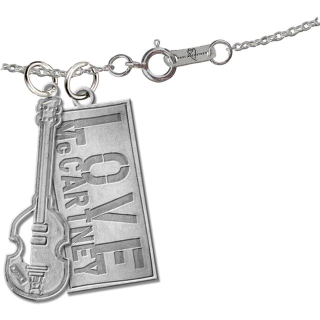 Paul McCartney Tagged Charm Necklace