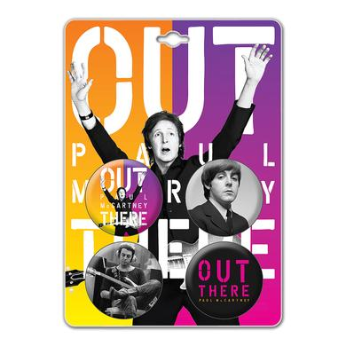 Paul McCartney Out There Blend Button Set