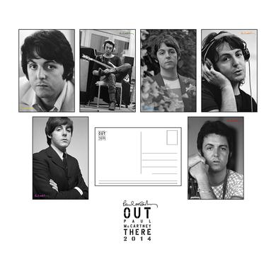 Paul McCartney Photo Series Postcard Set