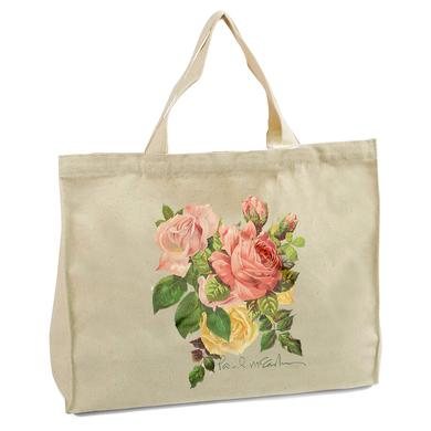 Paul McCartney Garden Rose Tote Bag