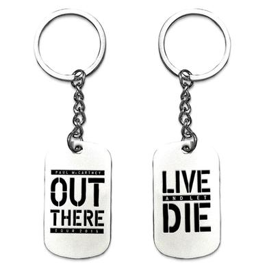 Paul McCartney Live and Let Die Keychain