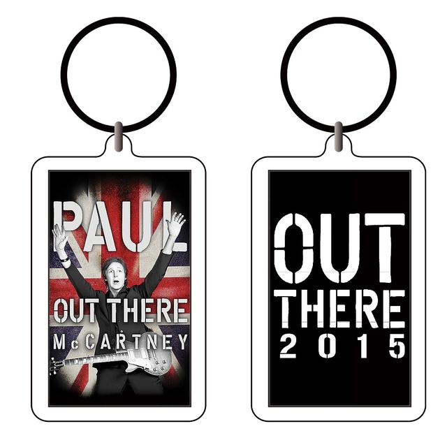 Paul McCartney Union Burst Acrylic Keychain