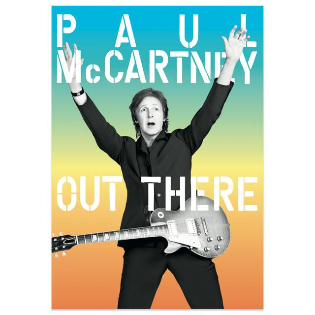 Paul McCartney Out There 2015 Tour Program