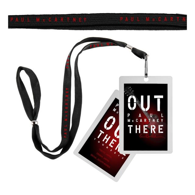 Paul Mccartney MAACA OT 2015 Laminate/Lanyard