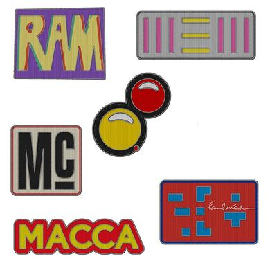 Paul McCartney History Patch set