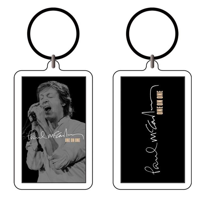 Paul McCartney Peachy Key Chain