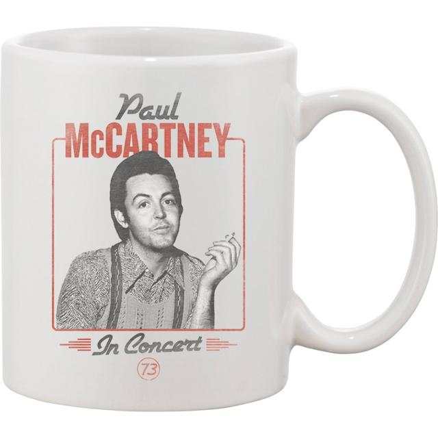 Paul Mccartney Retro Coffee Mug