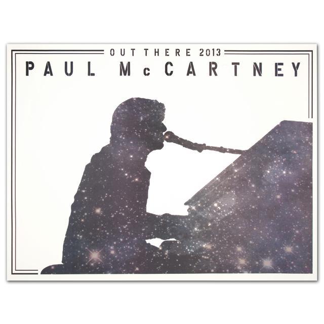 Paul McCartney Piano Galaxy Lithograph