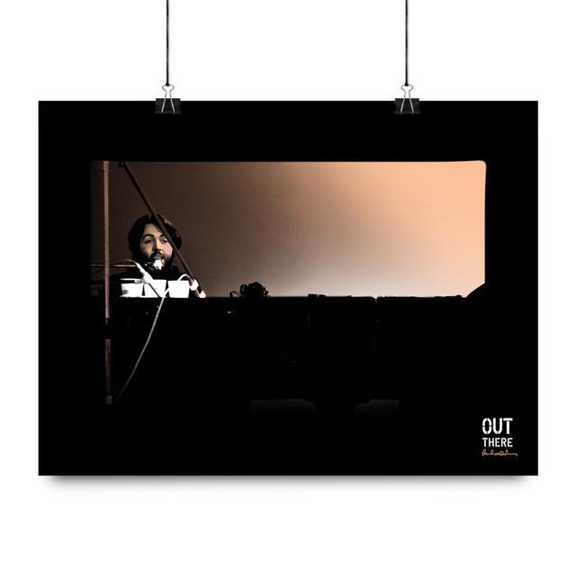 Paul McCartney Piano Litho