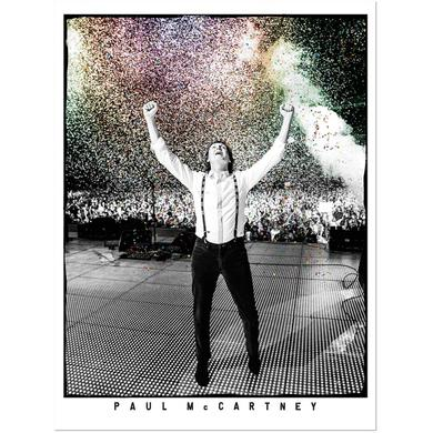 Paul Mccartney Pmc Confetti Litho