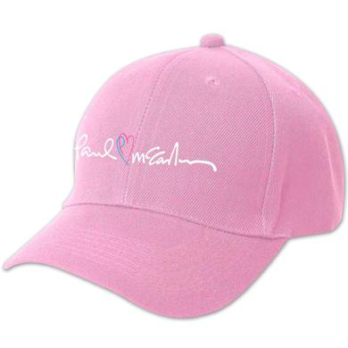 Paul McCartney PM Heart Hat
