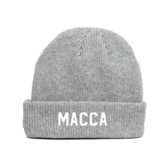 Paul Mccartney Macca Grey Beanie