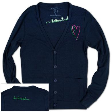Paul McCartney Women's Heart Cardigan