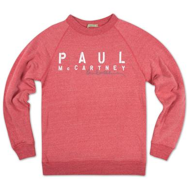 Paul McCartney ADMAT Logo Ladies Sweatshirt