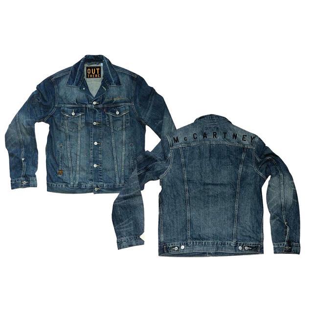 Paul McCartney Look Back Denim Jacket