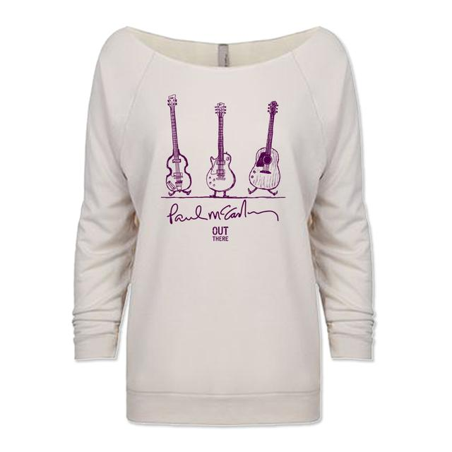 Paul McCartney Dancing Guitars Ladies Sweater