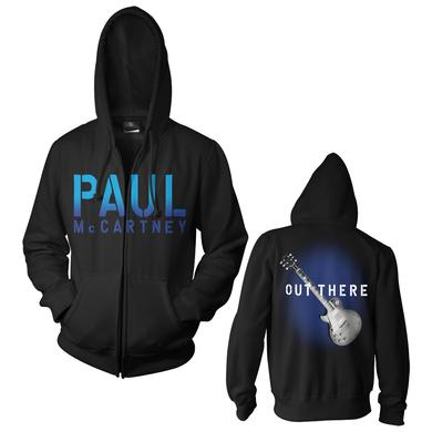 Paul McCartney Blue Burst Zip Hoodie